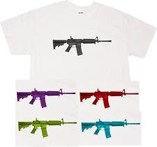 Kings Of NY AR-15 GUN ANTI CONTROL GUNS RIFLE PRO Short Sleeve Graphic T-Shirt