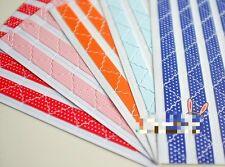 78 Pieces Pastel Colour reusable photo corners self adhesive craft Album Glitter