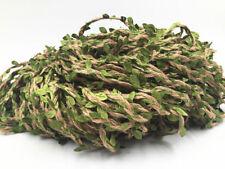 5/50/100M Artificial Ivy Vine Leaf Garland Headband Plants Fake Foliage Flowers