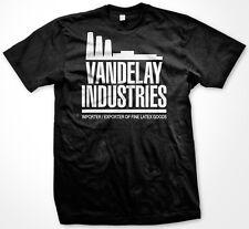 Vandelay Industries George Latex Salesman Joke Smoke Stacks Fine Men's T-Shirt