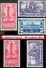 ** Italia 1931: ACCADEMIA NAVALE LIVORNO [Serie e Singoli, MNH]