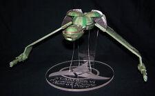 acrylic display stand for Diamond Select Star Trek Klingon Bird of Prey variants