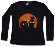 E & B PUPPETS DAMEN LANGARM T-SHIRT Logo Ernie Movie and und Puppen Bert