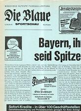 BL 81/82  FC Bayern München - 1. FC Köln (Blaue)