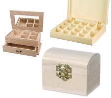 Schmuckschatulle Schmuckkästchen Holzbox Sortimentskasten Holztruhe Schatztruhe