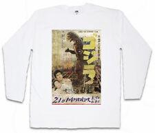 GODZILLA VINTAGE ASIA I LONG SLEEVE T-SHIRT Goijra Tokyo Nippon King Kong
