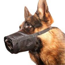 Adjustable Dog Grooming Muzzle No Bark Bite - Any Size XS Small Medium Large XL