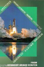 Postcard: Kennedy Space Center, Merritt Island - Space Shuttle Launch #4 (2004)