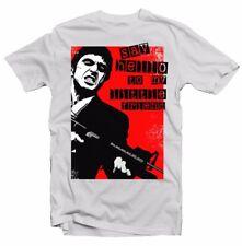 Scarface Tony Montana saludar a mi amigo Al Pacino Camiseta Blanca FN9342