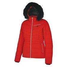 Dare 2B Women's Glamorize Faux Fur Trim Luxury Ski Jacket Lollipop Red RRP £200