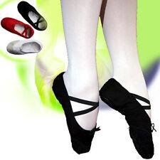 Ballettschuhe SCHWARZ Ballerinas Tanzschuche Ballet NEU