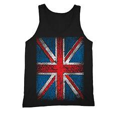 Union Jack Flag Tanktop United Kingdom British Britain England UK Flag Tank