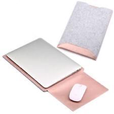 "Slim Felt PU Leather Sleeve Laptop Case Cover Bag for MacBook Pro 13.3"" Series"