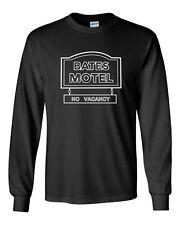 282 Bates Motel Long Sleeve shirt scary movie halloween costume horror tv show