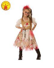 RD Girls Costume Fancy Dress Halloween Scary -  Black Magic VOODOO GIRL 641246