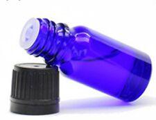 15ml [1/2 oz] COBALT BLUE Glass Bottles With Euro Dropper