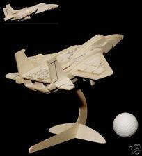 puzzle 3 d en bois f 15 avion de combat