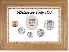 White Framed Birth Year Coin Gift Set, 2011