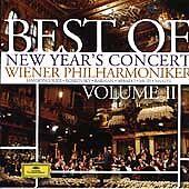 Best of New Year's Concert Vol 2 by Wiener Philharmoniker (CD, 2004) NEW