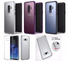 SAMSUNG GALAXY S8 S8Plus S9 S9Plus Case Clear Bumper Rubber Protective TPU W1