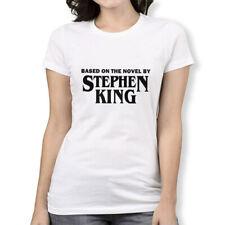 Stephen King Horror T-Shirt, Based On The Novel By Men's Women's Tee, All Sizes