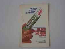 advertising Pubblicità 1973 BROOKLYN CHEWING GUM