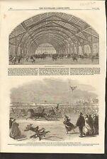 4/18/1863 #01-0076 ANTIQUE PRINT (CANADA) - ROYAL WEDDING DAY - BURLINGTON BAY