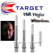 3 Shafts Target Phil Taylor Titanium - Länge wählbar - auch Ersatz-Tops