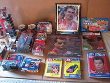 Jeff Gordon NASCAR Memorabilia 21 Piece Collection