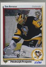 2014 Upper Deck 25th Anniversary 1990-91 Buybacks #121 Tom Barrasso Hockey Card