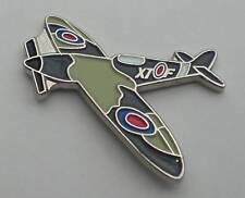 Spitfire RAF WW2 Aeroplane Quality Enamel Pin Badge