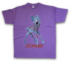 ZOMBI I T-SHIRT Deer Fun Dracula Vampire Bat Zombie Halloween Splatter Bambi