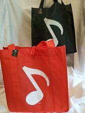 REUSABLE SHOPPING BAG-MUSIC NOTE DESIGN