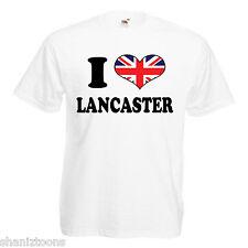 I Love Heart Lancaster Children's Kids T Shirt