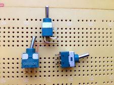 50 mA 60 V Interruptor DPDT microminiatura Interruptor Contactos Dorados A9T21-0012 cantidad de múltiples