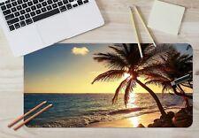 3D Twilight Beach 45 Non-slip Office Desk Mouse Mat Large Keyboard Pad Mat Game