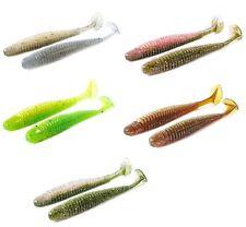 """NOIKE Wobble Shad 4"""" 10,2 cm 5,2 g 6 Pièce Shrimp Arôme SANS Plastifiants new neuf dans sa boîte"""
