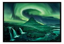 88983 Aurora Borealis Northern Lights Decor WALL PRINT POSTER CA