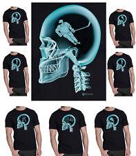 SPORT/FITNESS sul cervello X-Ray T-SHIRT UOMO * scegli il tuo sport *