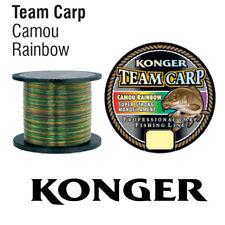 (0,01€/m) 1000m KARPFENSCHNUR ANGELSCHNUR KONGER TEAM CARP CAMOU RAINBOW MONOFIL