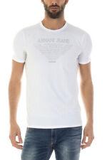T-Shirt Armani Jeans AJ Sweatshirt % MADE IN ITALY Uomo Bianco 6X6T046J01Z-1149