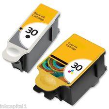 1 x Black & Colour Ink Cartridges Non-OEM Alternative For Kodak Series 30, 30XL