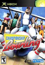 NEW! Championship Bowling (Microsoft Original Xbox, 2006) New & Factory Sealed