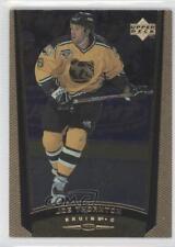 1998-99 Upper Deck Gold Reserve #218 Joe Thornton Boston Bruins Hockey Card