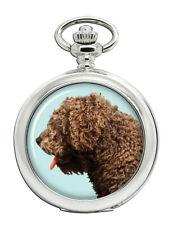 Spanish Water Dog Pocket Watch (Optional Engraving)