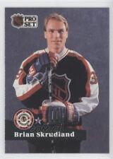 1991-92 Pro Set #306 Brian Skrudland NHL All-Star Team Hockey Card