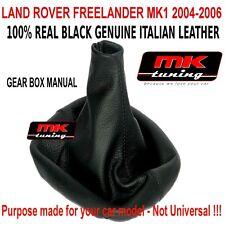 Land Rover Freelander 2004-06 Engranaje Arranque cambio Polaina Cubierta De Cuero
