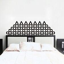 Headboard Wall Decal Inspired Geometric Vinyl Art Bedroom Mural Dorm Decor Gift