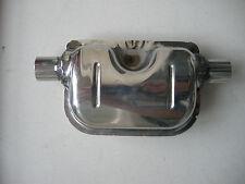 Webasto,Eberspacher heaters 30mm sillencer/muffler stainless steel full polished