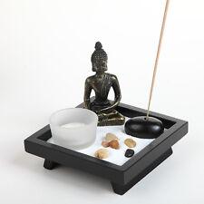 Thai  Buddha Ornament Yoga Candle Holder Natural Stone Incense Stick
